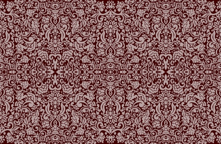 Seamless Damask wallpaper  Stock Vector - 13625612