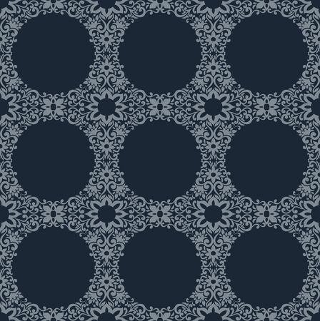 Seamless Damask wallpaper. Stock Vector - 13625266