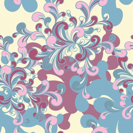 twirls: Abstract Colored Background. Seamless grunge Texture.