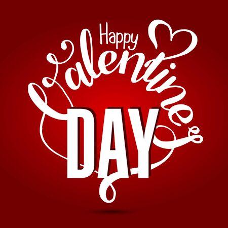 valentines day: Valentines day vintage lettering background card