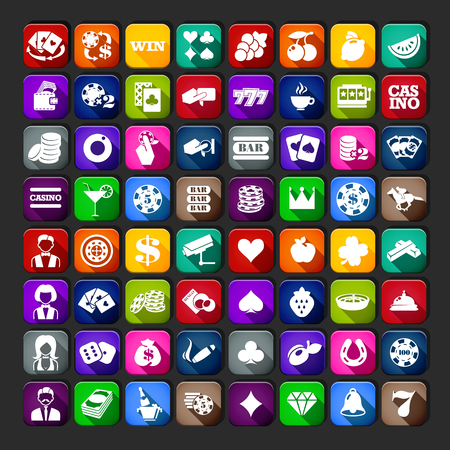 casino chip: Casino Icons Simple Set. Casino Set UI. Casino Set App. Casino Set Web.