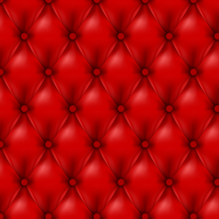 Vector pelle sfondo con bottoni. Sfondo di lusso .. sfondo di cuoio. sfondo in pelle. illustrazione vettoriale di pelle rossa. Vector texture in pelle. Struttura di cuoio.