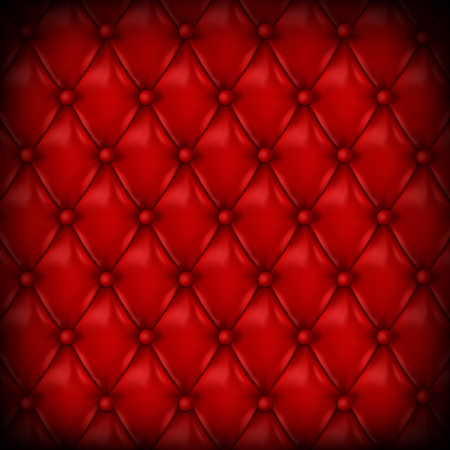 Vector Leather background with buttons. Luxury background.. Leather background. Leather background. Vector illustration of red leather background. Vector leather texture. Leather texture. Vector Illustration