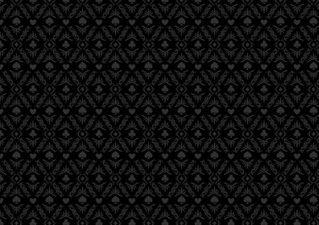 Black Casino Gambling Poker Background Or Dark Damask Pattern Royalty Free Cliparts Vectors And Stock Illustration Image 56208487