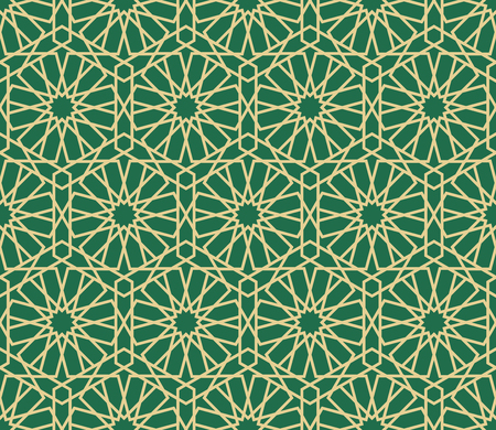 delicate arabic motif: Islamic Background. Vector Seamless Arabian pattern. Geometric ornament arabic pattern background.