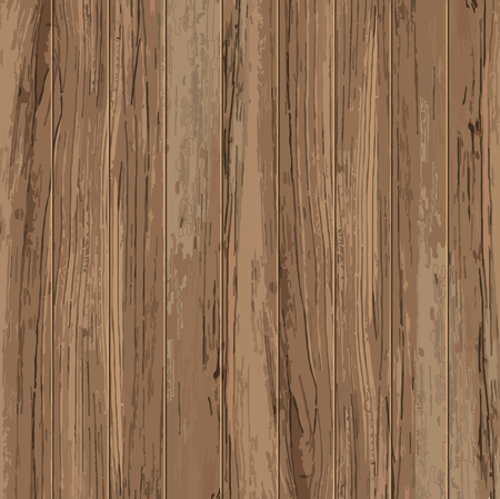 Wooden plank texture background wallpaper illustration. Vector design.