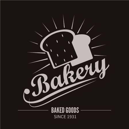bred: Bakery . Bakery or bred shop vintage design element. Vector Illustration. Illustration
