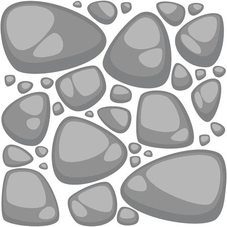 stonewall: Abstract stone background . Seamless pattern. Illustration Illustration