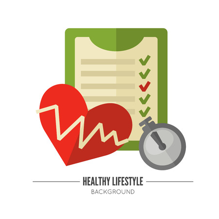 abstract paintings: Healthy lifestyle. Vector wellness concept