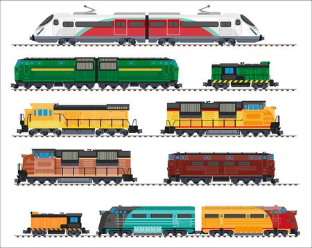 railway transport: Railway transport: locomotives, trains, wagons