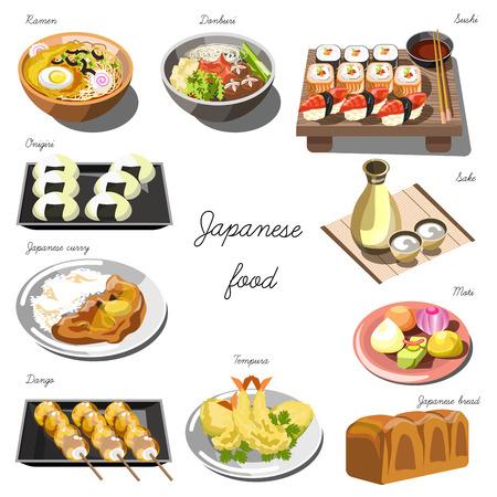 日本料理セットです。お料理集