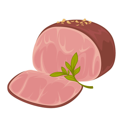 ham sandwich: Ham - icon of smoked pork