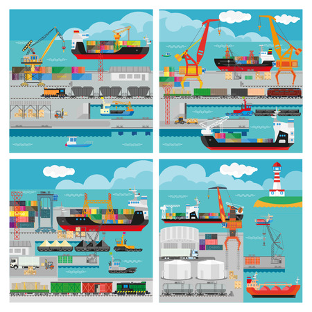 export import: sea transport