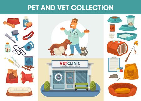 crippled: Veterinary medicine hospital, clinic or pet shop for animals.