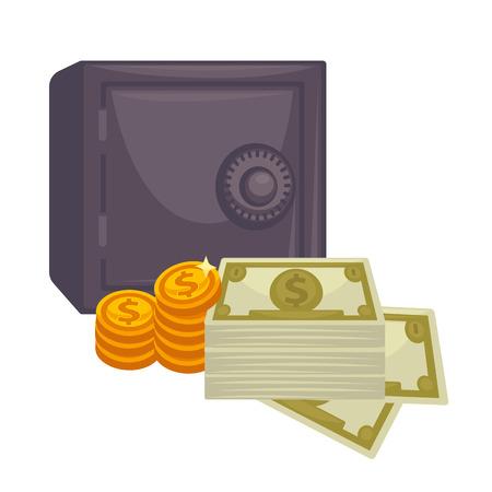 stack of dollar bill: Big pile of cash. Concept   money.