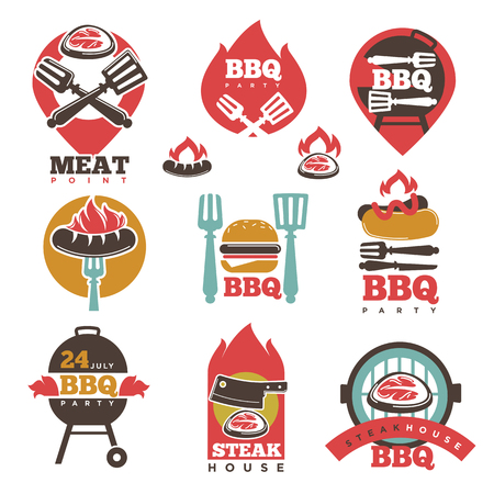 24 month old: BBQ Steak Party House Meat Point Signs Collection