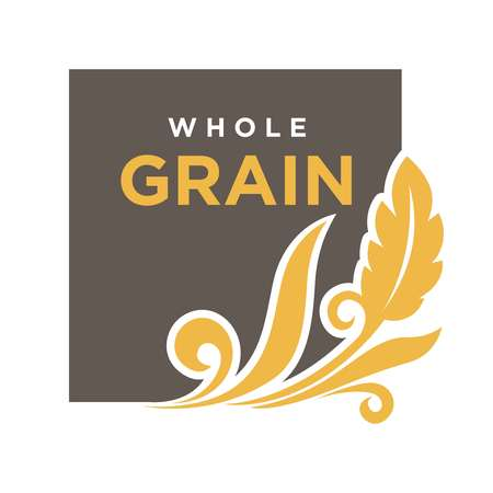 logos de empresas: Whole grainemblem oreja de trigo ecología símbolo aislado Vectores