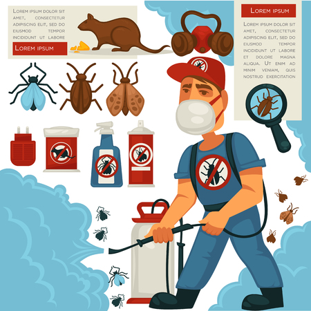 Ekwipunek lub plakietka z płaskim plakatem do domowej dezynfekcji sanitarnej