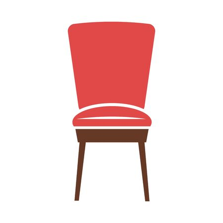 minimalistic: Red minimalistic chair