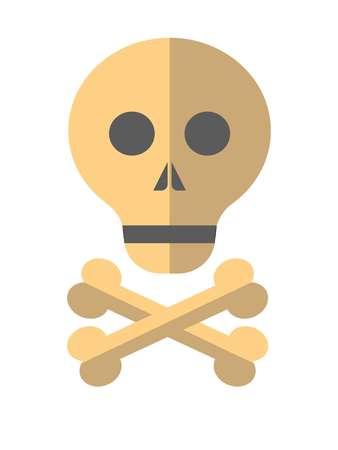 skull and crossed bones: Skull and crossed bones