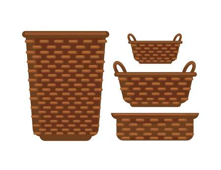 big: Different sized baskets
