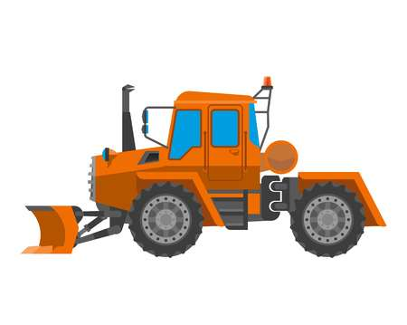 Big tractor for maintenance works