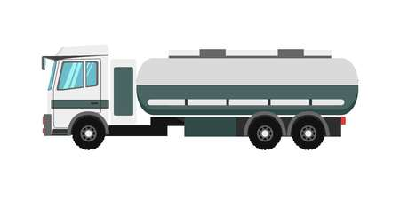 delivery truck: Big truck with fuel