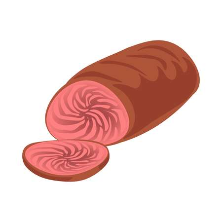 Cooked sliced meat