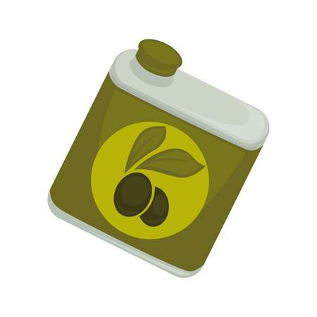 cooking oil: Jar with olive oil