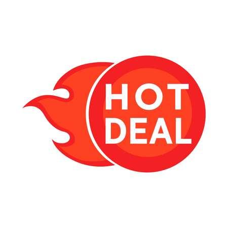 Hot deal symbol