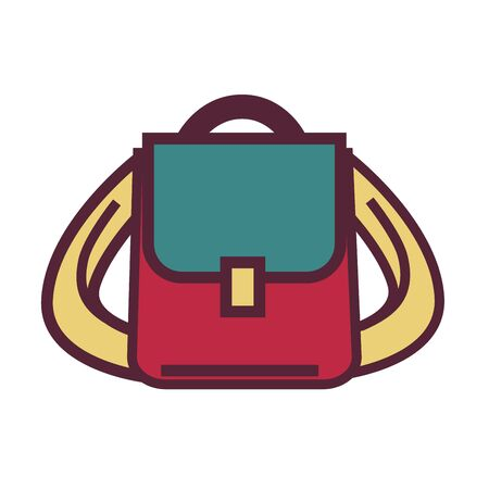 Backpack of pupil