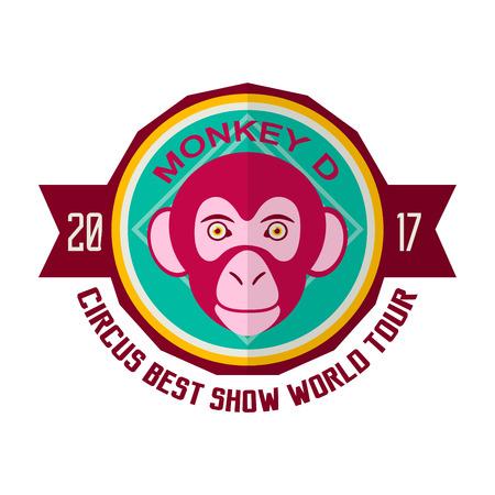 perform: Monkey D circus best show world tour 2017 emblem