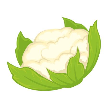 Whole fresh cauliflower