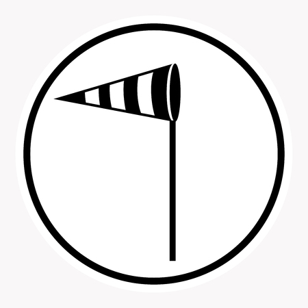 security symbol: warning and danger sign attention symbol. Illustration