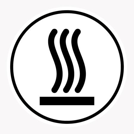 beware: warning and danger sign attention symbol. Illustration