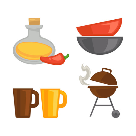 Different items for cooking