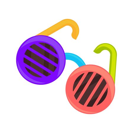 Childish colorful sunglasses