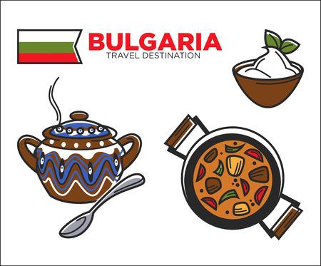 Traditional Bulgarian food