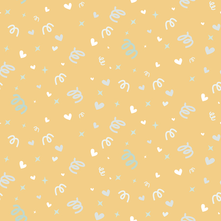wedding couple: Wedding abstract seamless pattern in pastel soft colors.
