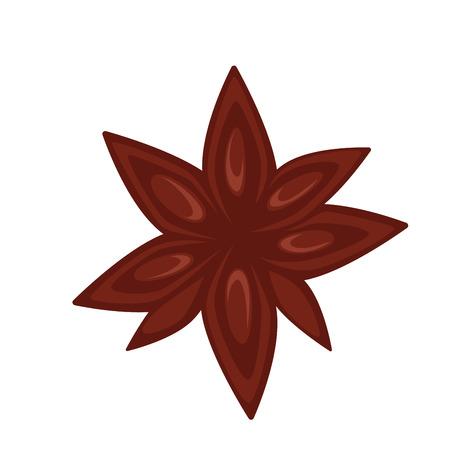Simple brown flower
