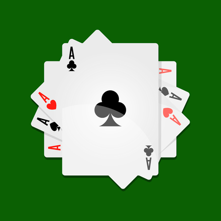 Aces in roll