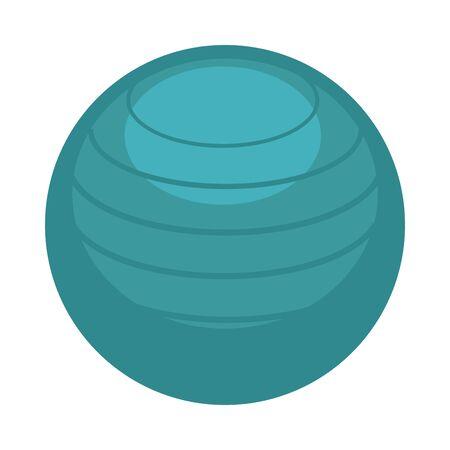 Big ball for aerobics