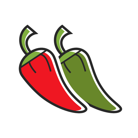 Different hot peppers