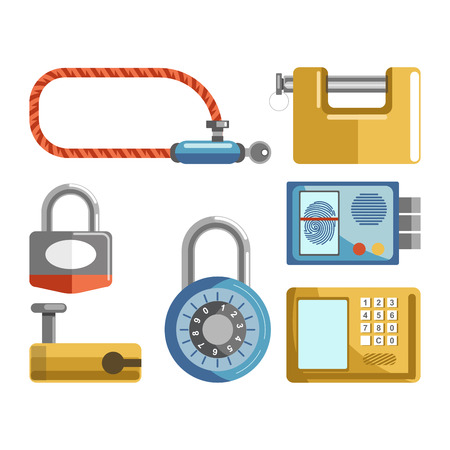 Set of locks