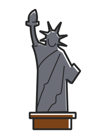 Simple Statue of Liberty