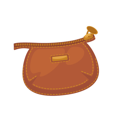 people: Wallets with money shopping. Purse  cash. Illustration