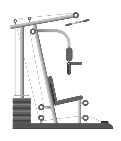 Gym equipment Illustration