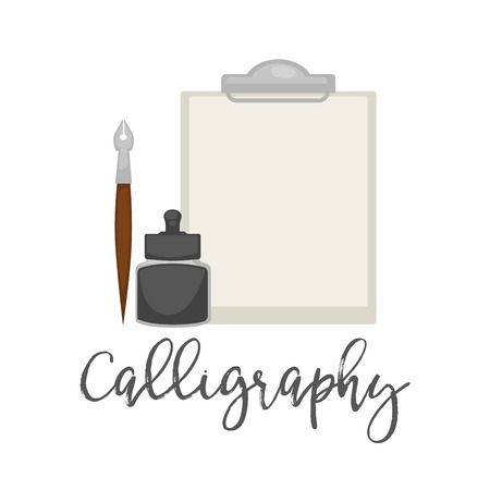 Outils simples de calligraphie