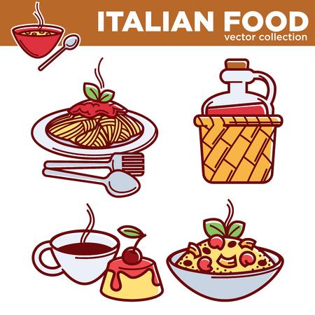 Raccolta di cibo tradizionale cinese di piatti tradizionali migliori