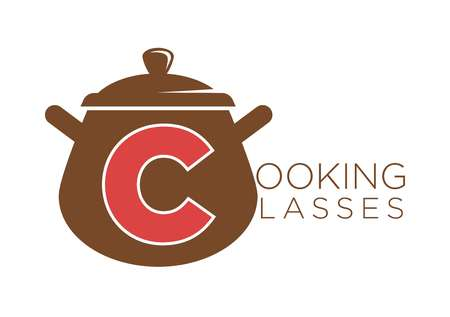 Cooking classes vector sauce pan vector icon